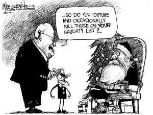 When Cheney meets Santa