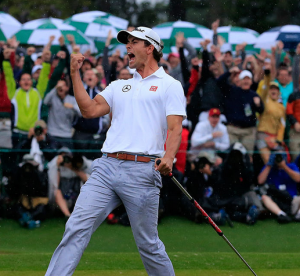 Adam Scott wins the Masters Green Jacket in  playoff!