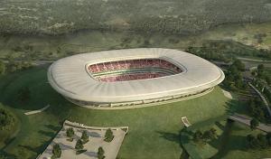 Volcano Stadium in Guadalajara