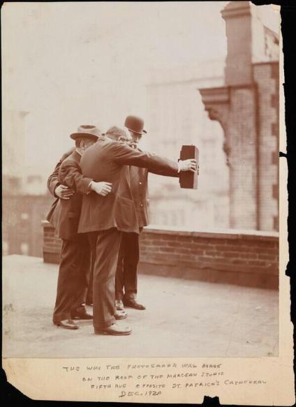 """""""Selfie in 1920"""