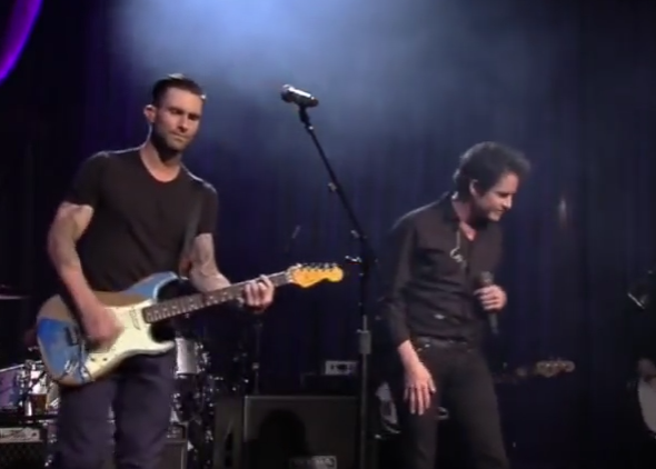 Adam Levine Performs  Purple Rain  At The Howard Stern Birthday Bash on SiriusXM   YouTube